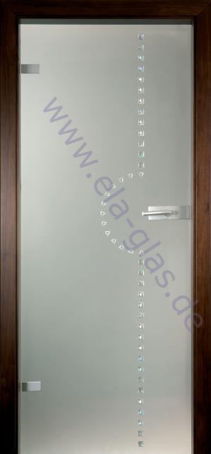Glastür IRIS 150