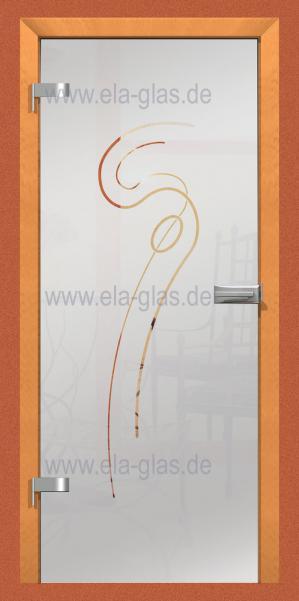 Design Glastür ANCORA