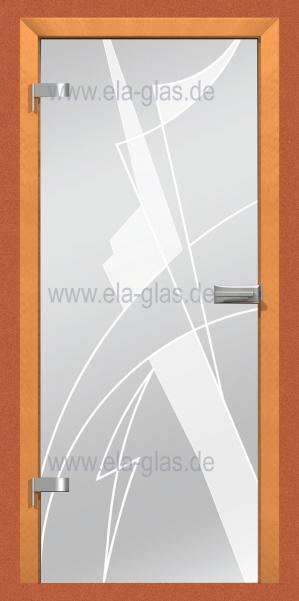 glastür