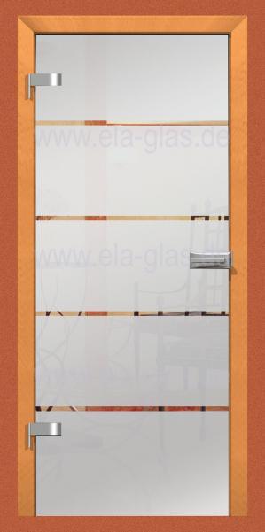 Design Glastür ATOS 01