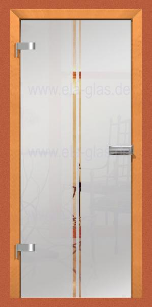 Design Glastür LINEA 02