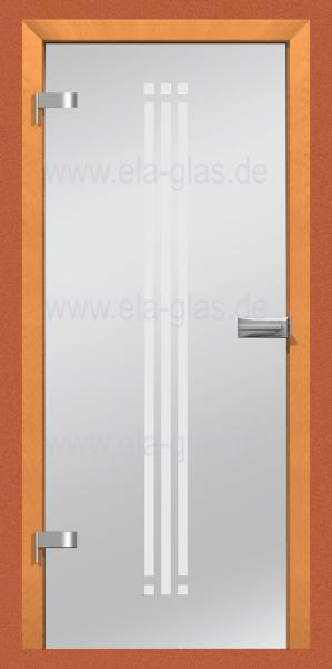 Design Glastür CASABLANCA 05