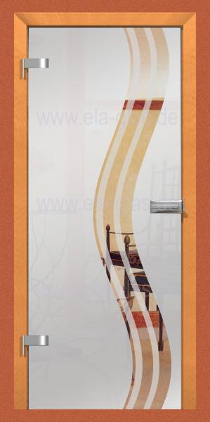 Design Glastür EBRO 037