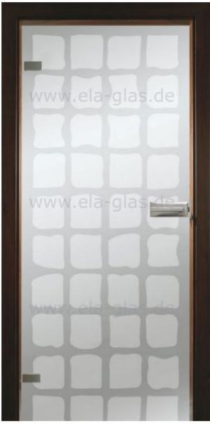 Design Glastür 203