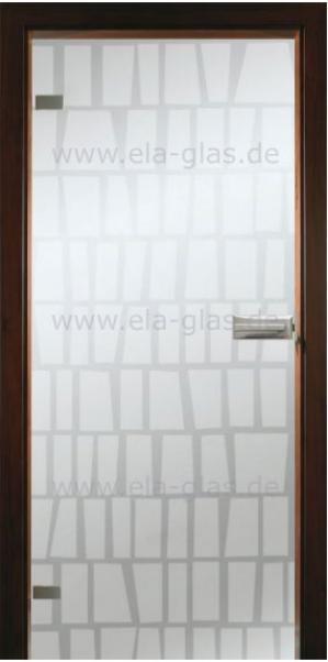 Design Glastür 204