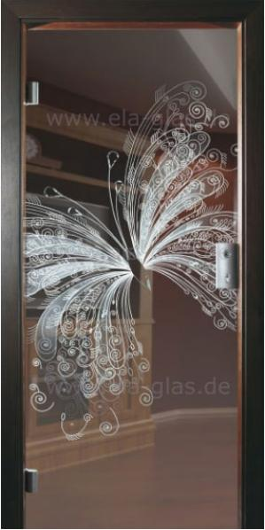Design Glastür 193