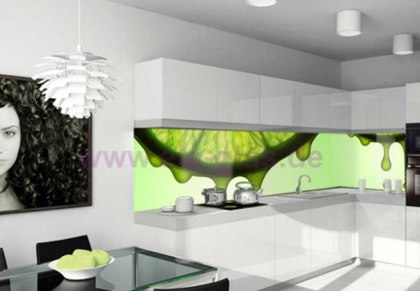 Küchenrückwand Fotoglas